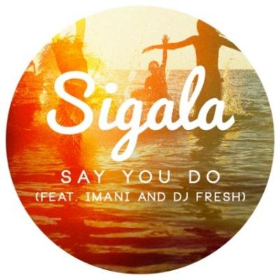 SIGALA & DJ FRESH & IMANI - Say You Do